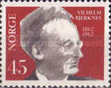 [The 100th Anniversary of the Birth of Professor Vilh Bjerknes, type FO]