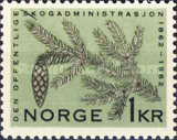 [The 100th anniversary of the National Forest Administration, type FQ1]