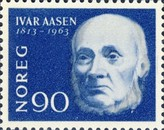 [The 150th anniversary of the birth of the Ivar Aasen, Typ FZ1]