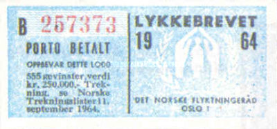 [Lottery stamp, Typ GN]