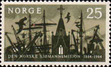 [The 100th anniversary of the Norwegian Missions to Seamen, Typ GO]