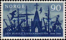 [The 100th anniversary of the Norwegian Missions to Seamen, Typ GO1]