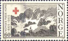 [The 100th anniversary of the Norwegian Red Cross, Typ GV]
