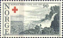 [The 100th anniversary of the Norwegian Red Cross, Typ GW]