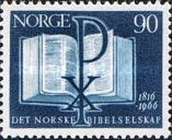 [The 150th anniversary of the Norwegian Bible Society, type HF1]