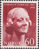 [The 100th anniversary of the birth of the actress Johanne Dybwad, Typ HP1]