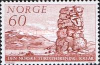 [The 100th anniversary of the Norwegian tourist association, Typ HT]