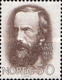 [The 150th anniversary of the birth of the poet Aasmund Olavsson Vinje, Typ HW]