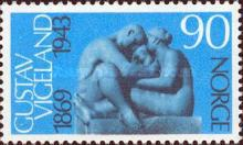 [The 100th anniversary of the birth of the sculptor Gustav Vigeland, Typ IK]