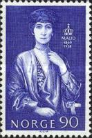 [The 100th anniversary of the birth of Queen Maud, Typ IN1]