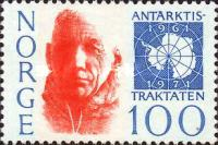 [The 10th anniversary of the The Antarctic treaty, Typ JK]