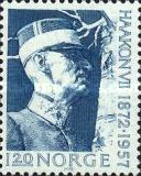 [The 100th anniversary of the birth of Haakon VII, Typ JV1]
