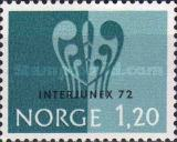 [Overprinted INTERJUNEX 72 - stamp exhibition, Typ JZ]