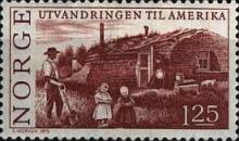[The 150th anniversary of the emigration to America, Typ LU]