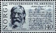 [The 150th anniversary of the emigration to America, Typ LV]