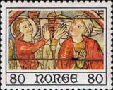 [Christmas stamps - Paintings from Ål stave church, Typ MB]