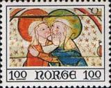 [Christmas stamps - Paintings from Ål stave church, Typ MC]
