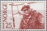 [The 75th Anniversary of the Birth of King Olav, Typ OA]