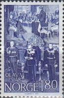 [The 75th Anniversary of the Birth of King Olav, Typ OB]