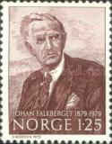 [The 100th anniversary of the birth of the writer Johan Falkberget, Typ OY]