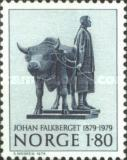 [The 100th anniversary of the birth of the writer Johan Falkberget, Typ OZ]