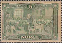 [The 100th Anniversary of the declaration of independence of Norway, Typ P]