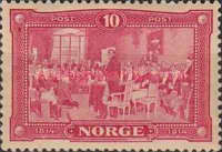 [The 100th Anniversary of the declaration of independence of Norway, Typ P1]