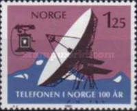 [The 100th anniversary of the first telephone in Norway, Typ PQ]
