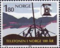 [The 100th anniversary of the first telephone in Norway, Typ PR]