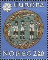 [EUROPA Stamps - Folklore, Typ QM]
