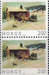[Christmas stamps, Typ SQ1]