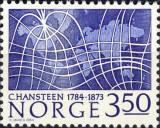 [The 200th anniversary of the birth of the geophysicist Christopher Hansteen, Typ SY]