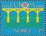 [EUROPA Stamps - Bridges - The 25th Anniversary of CEPT, Typ TA1]