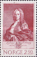 [The 300th anniversary of the birth of Ludvig Holberg, Typ TH]