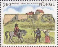 [The 300th anniversary of Kongsten Fort, Typ TQ]