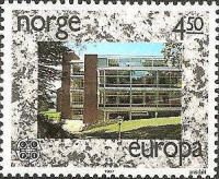 [EUROPA Stamps - Modern Architecture, Typ VI]