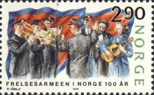 [The 100th anniversary of the Norwegian Salvation Army, Typ WE]