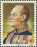 [The 85th Anniversary of the Birth of King Olav, Typ WM]