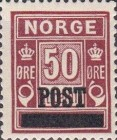 [Overprinted Postage-Due Stamps, Typ Z4]