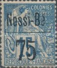 [French Colonies - General Issues Postage Stamps Surcharged, type F2]