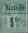 [French Colonies - General Issues Postage Stamps Surcharged, type F3]