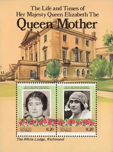 [The 85th Anniversary of the Birth of Queen Elizabeth, 1900-2002, Typ ]