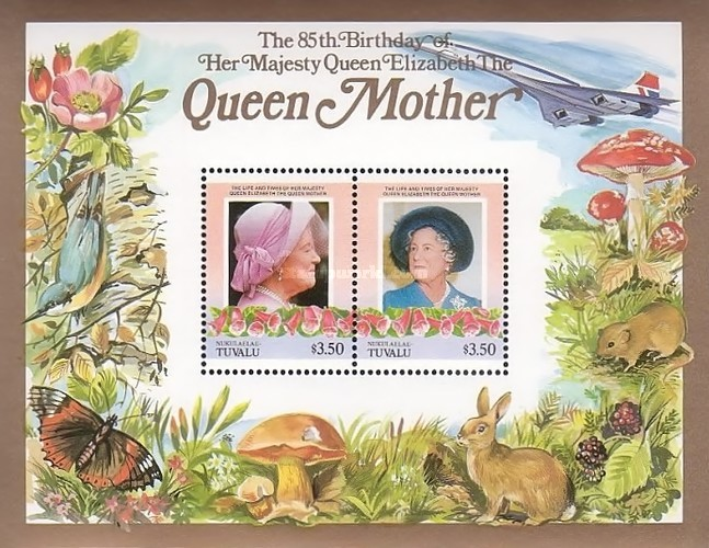 [The 85th Anniversary (1985) of the Birth of Queen Elizabeth, 1900-2002, type ]