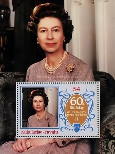 [The 60th Anniversary of the Birth of Queen Elizabeth II, Typ ]