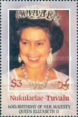 [The 60th Anniversary of the Birth of Queen Elizabeth II, Typ BZ]