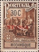 [Mozambique Postage Due Tax Stamps Overprinted