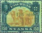 [Dromedary Camels Stamps of 1901 with Thin Surcharge, type E3]