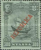 [Ships - Not Issued Stamps Overprinted