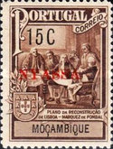 [Mozambique Tax Stamps Overprinted