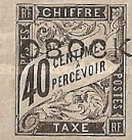 [French Colonies Postage Due Stamps Handstamped